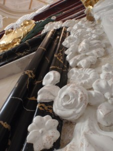 Stiuk marmurowy Portoro i alabaster Adamkk